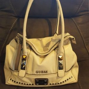 Guess handbag with tri-color studs